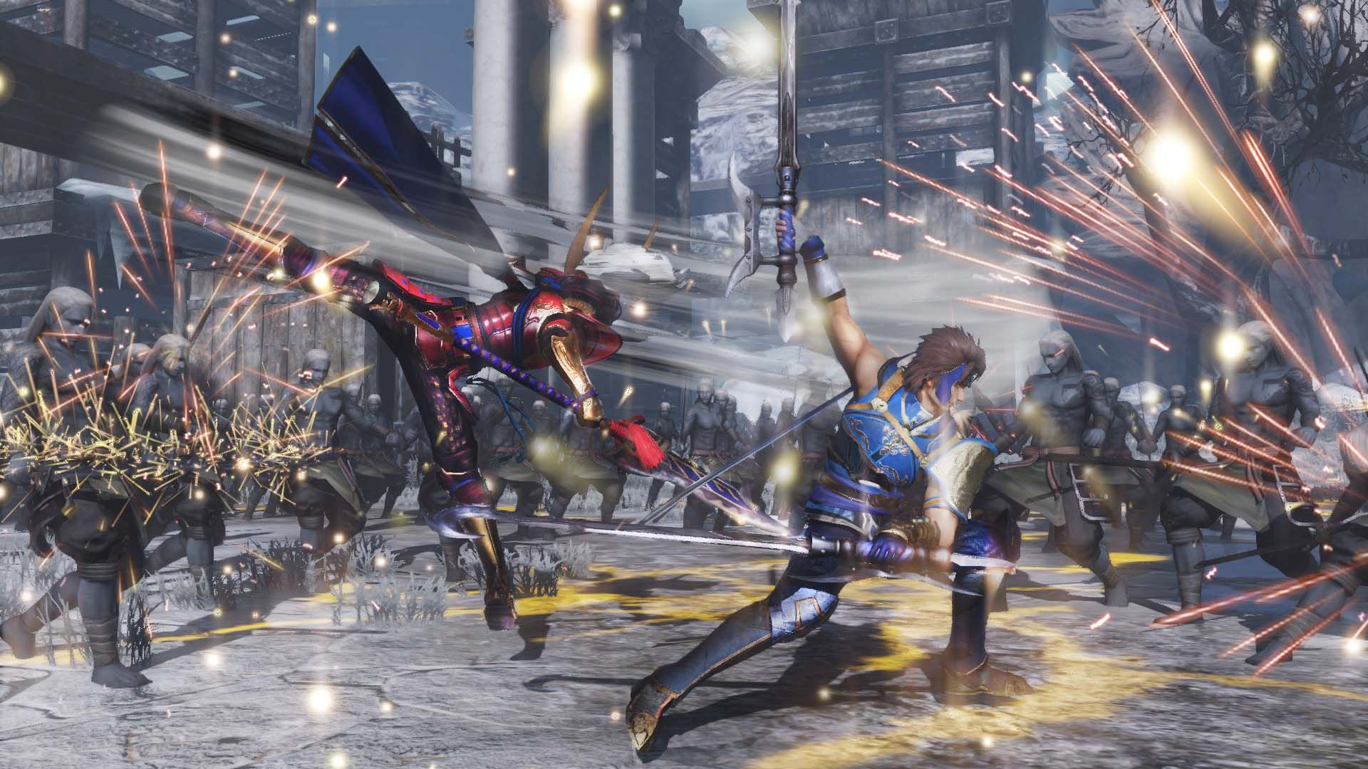 Anime Magic Wallpaper Warriors Orochi 4 Will Launch This Fall On Ps4 Xbox One