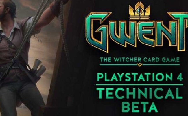 Gwent The Witcher Card Game Ps4 Technical Beta Coming