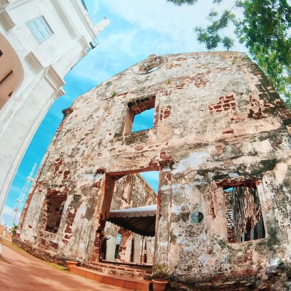 things to do in Melaka, St Paul's Church