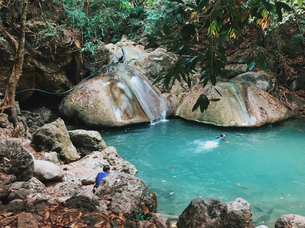 things to do in kanchanaburi, Thailand tourist spots, Erawan Falls