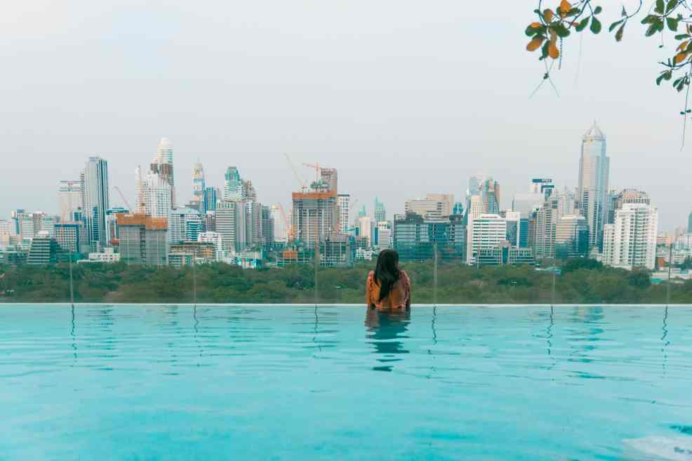 infinity pool in Thailand