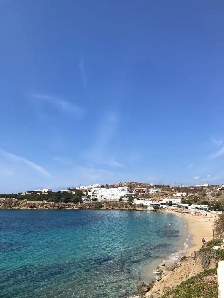 Things to do in Mykonos, Places to visit in Mykonos, Food to try in Mykonos, agios stefanos beach in mykonos