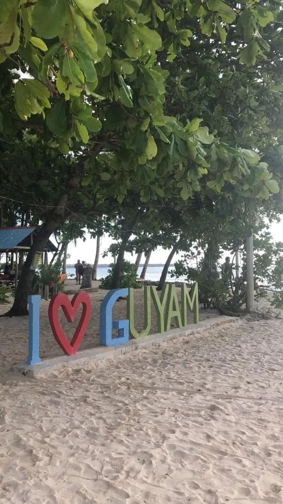Island Hopping in Siargao, Guyam Island