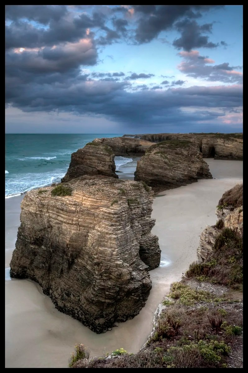 Playa de las Catedrales, Catedrales Beach, Instagrammable places in Spain