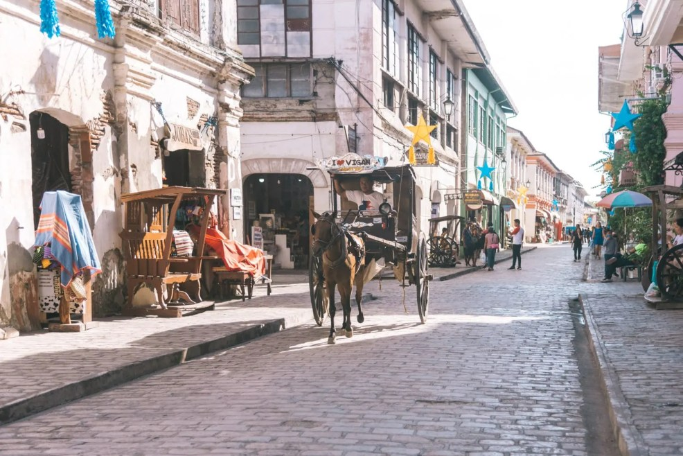 things to do in vigan, transportation around Vigan, calesa in Vigan, Vigan itinerary