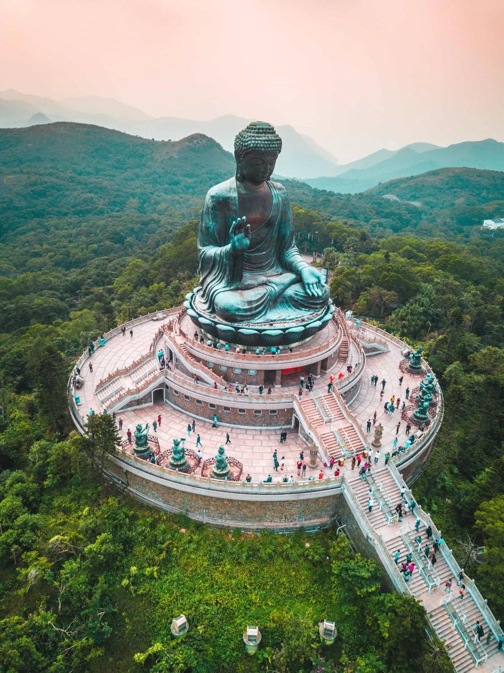 Big Buddha, instagrammable places in Hong Kong, Hong Kong itinerary