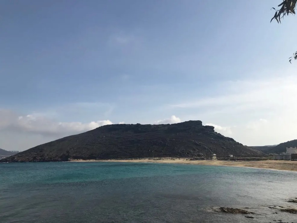 top instagrammable places in mykonos panormos beach