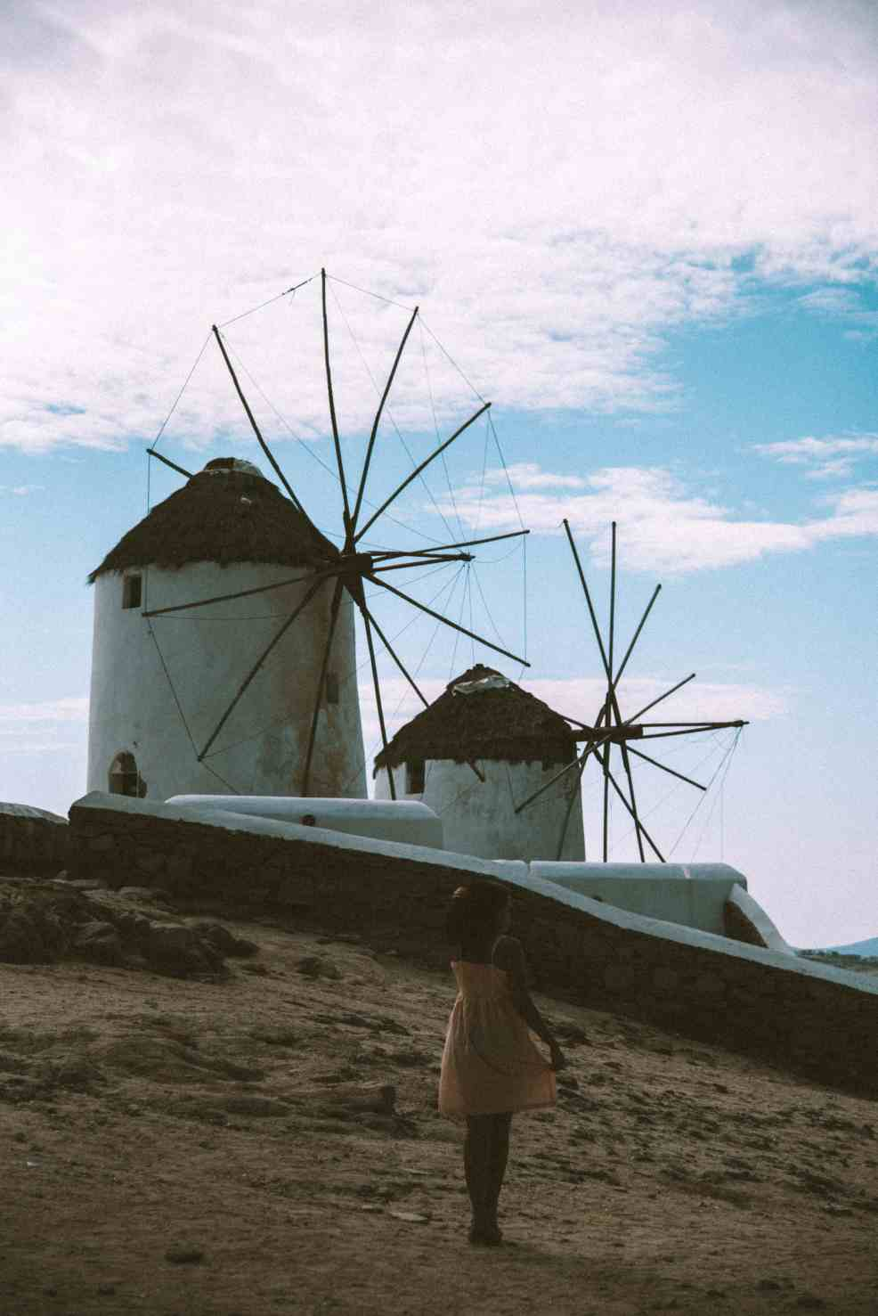 top instagrammable places in Mykonos the windmills