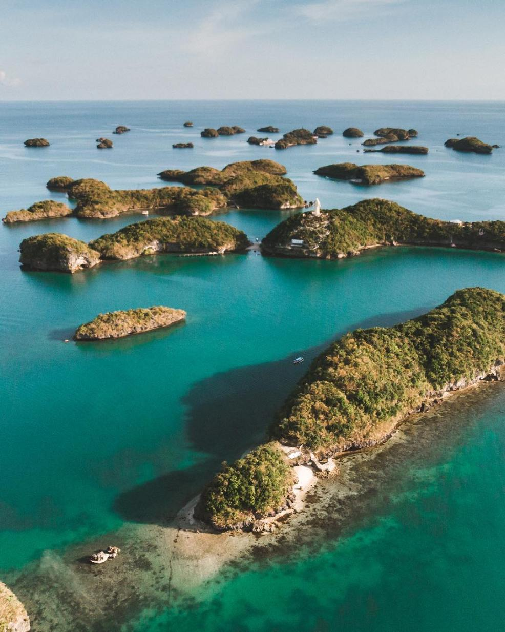 100 Islands, Hundred Islands Natural Park, tourist spots in the Philippines, Pangasinan