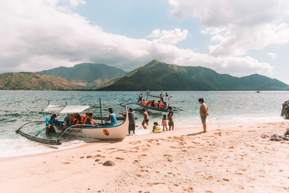 Zambales Island Hopping, Capones Island, Capones Island, Island hopping in Zambales, Zambales travel guide