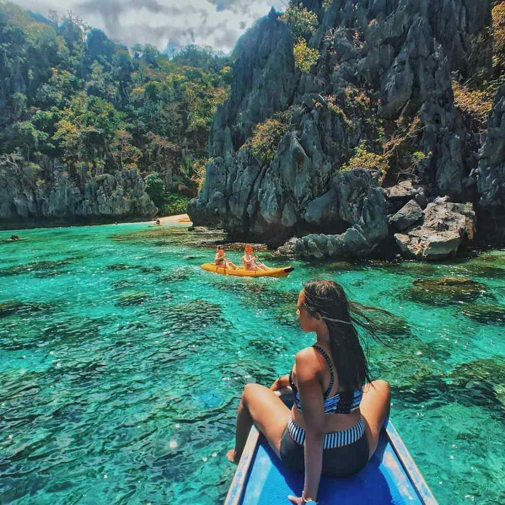 Small Lagoon, tourist spots in the Philippines