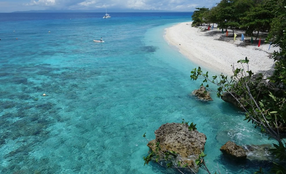 best beaches in Cebu, Cebu, Sumillon Island