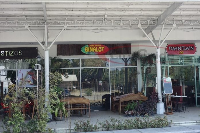 Binalot restaurant, best restaurants in Angeles City