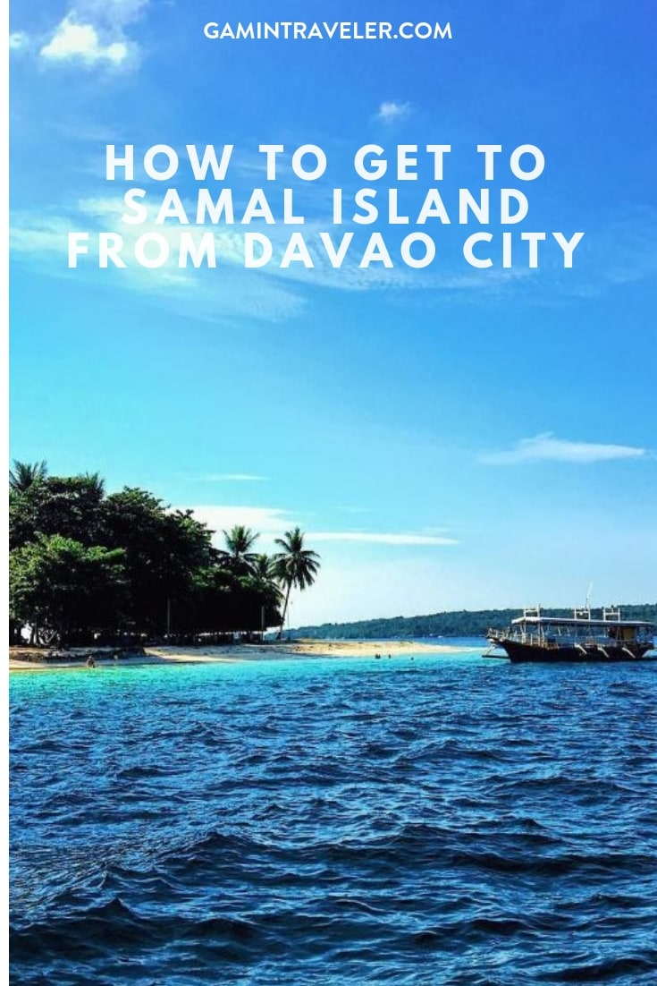How To Get To Samal Island From Davao City Gamintraveler