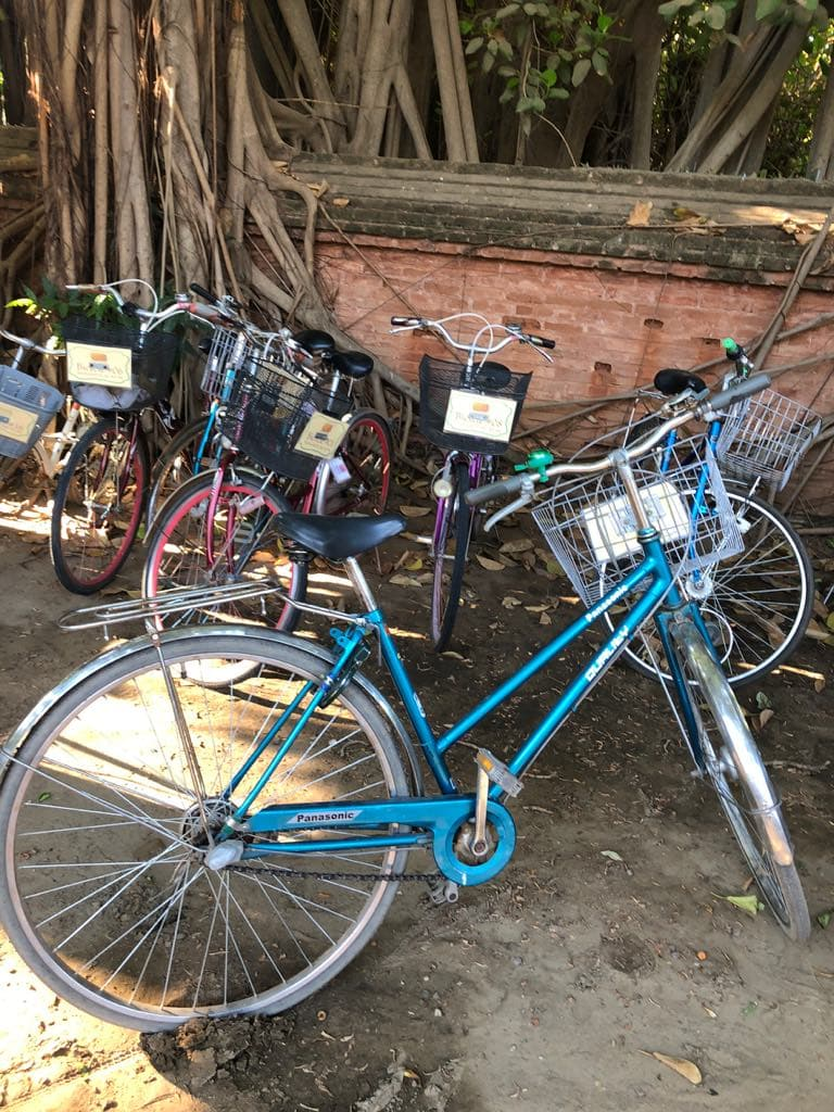 rent a bicycle in Inle Lake