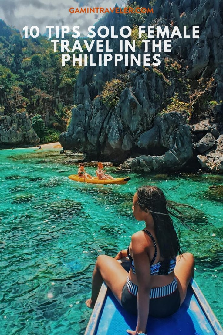 solo female travel in the Philippines