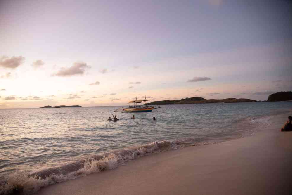sunrise in Calguas Island, things to do in Calaguas Island