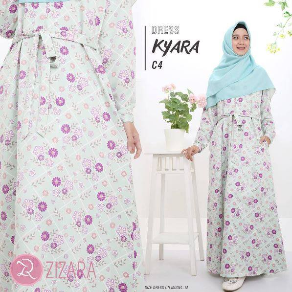 Gamis Zizara Kyara Dress seri C4