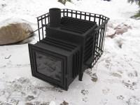 Blacksmith sauna stoves  unique design - Gamkalv