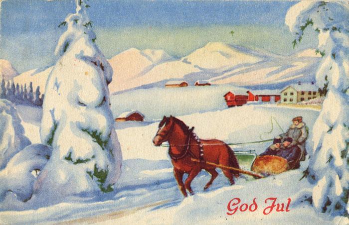 Gamle Julepostkort