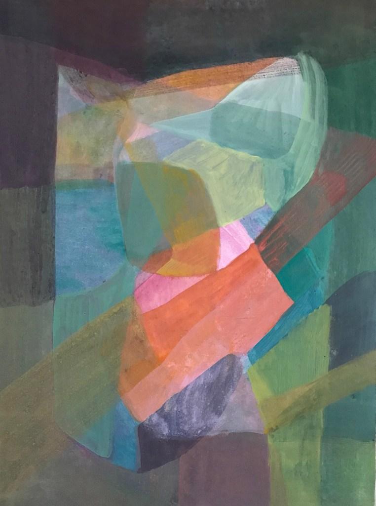 Aus der Farbe gemalt Sonja Borer