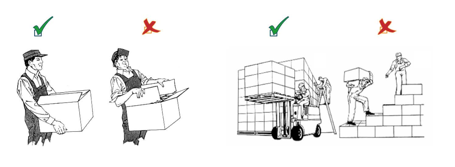 Manipulación, almacenamiento, despacho y transporte de