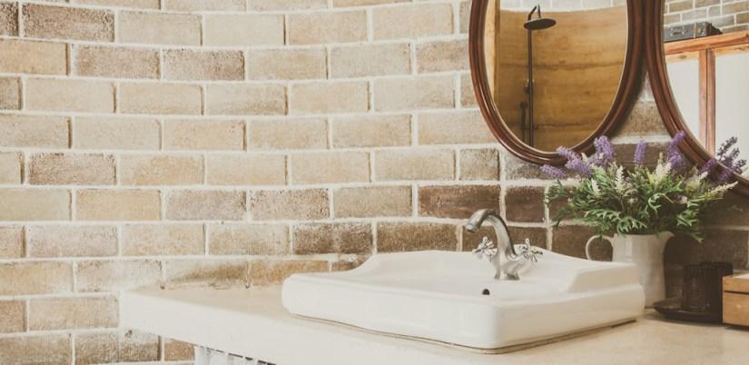 baño rústico, baño rústico moderno, estilo campestre, estilo rústico.