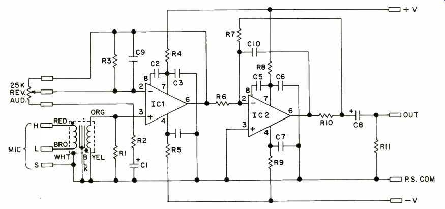 Build A Microphone Preamp (Feb. 1979)