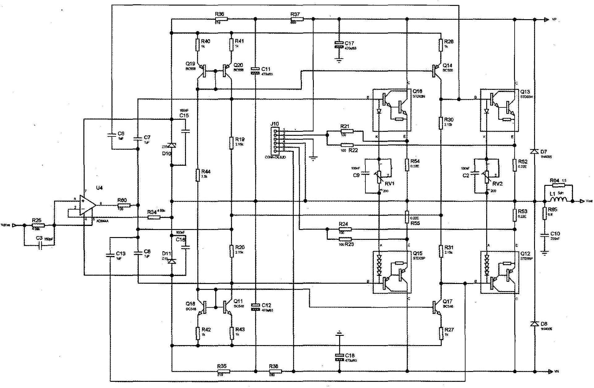 An Experimental Error Correction Power Amplifier Part 1