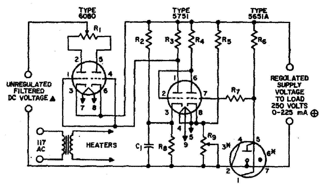 Regulated Power Supply for Vacuum Tube (Valve) Electronics
