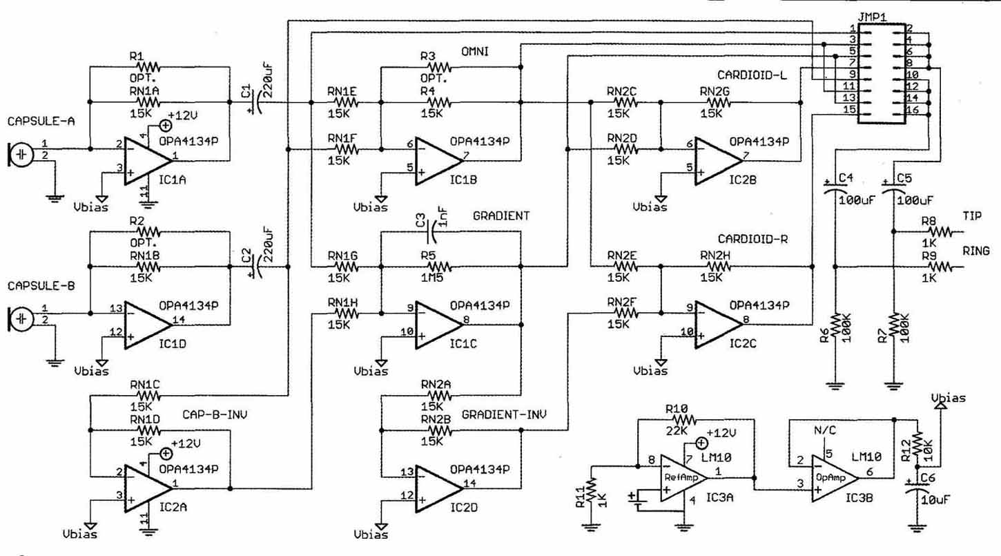 Design and Measurement of a Dipole Microphone