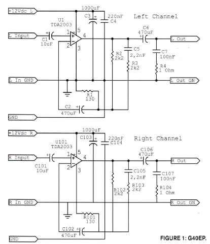 Powered Headphone Amplifier Headphone Set Wiring Diagram