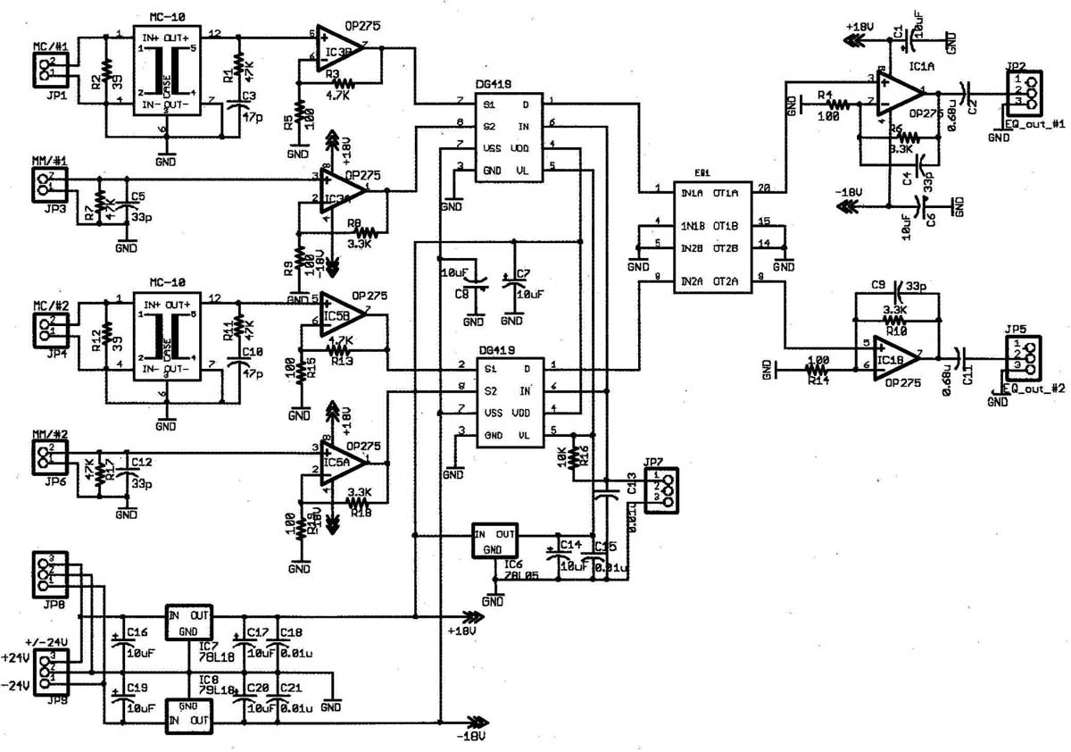 hight resolution of figure 2 riaa equalizer basic circuit diagram