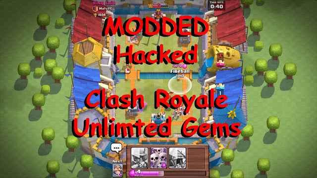 apk mod clash royale