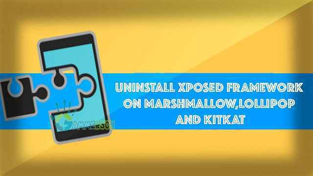 uninstall-xposed-framework-on-marshmallow
