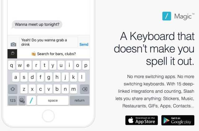 Slash Keyboard best alternative of GBoard