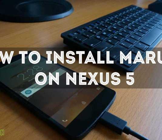 MARU OS ROM FOR NEXUS 5