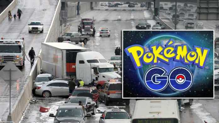 Pokemon Go: Major Highway Accident After Man Stops In Middle Of Highway To Catch Pikachu!