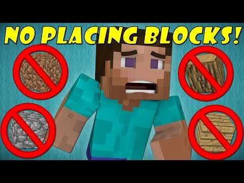 Can't I place or destroy blocks in Minecraft