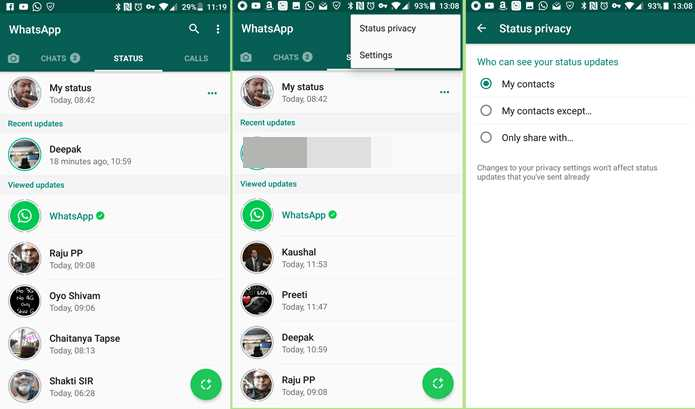 """How to Disable/Remove the new """"WhatsApp Status"""" feature"""