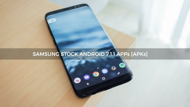 Download Samsung Android Nougat Stock Apps
