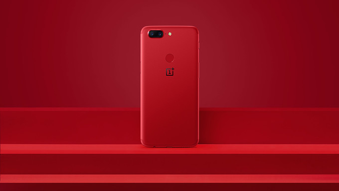 Download OnePlus 5T Lava Red Wallpapers