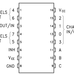 One Line Diagram Example Ibanez Support Wiring Diagrams Gammon Forum : Electronics Microprocessors 74hc4051 Multiplexer / Demultiplexer