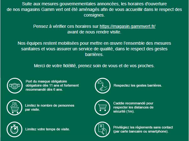 https www gammvert fr faq details commandes covid 19