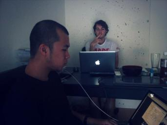 Andrzej and Ferdi al lavoro - Gamobu