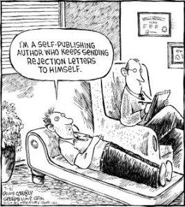 """""""Sono un autore self-publishing che continua a mandarsi lettere di rifiuto da solo"""""""