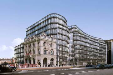 La sede di Amazon a Londra