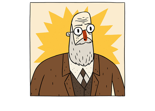 Sigmund Freud - Super Science Friends - Gamobu