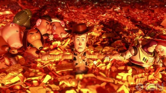 Una delle scene più toccanti di Toy Story 3 - Gamobu