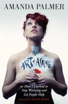 La copertina di The Art of Asking di Amanda Palmer, in vendita su Twitter - Gamobu